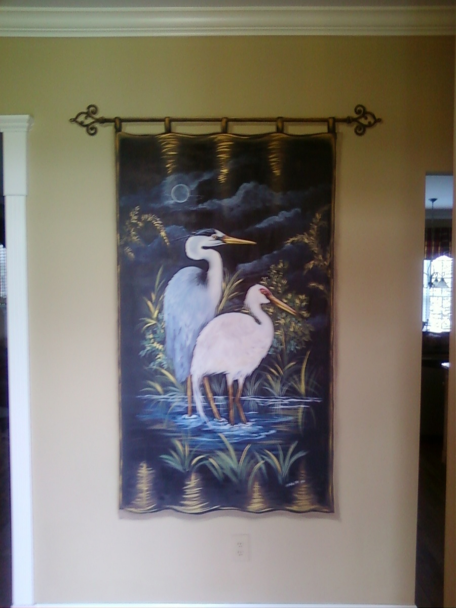 Crane Wallhanging